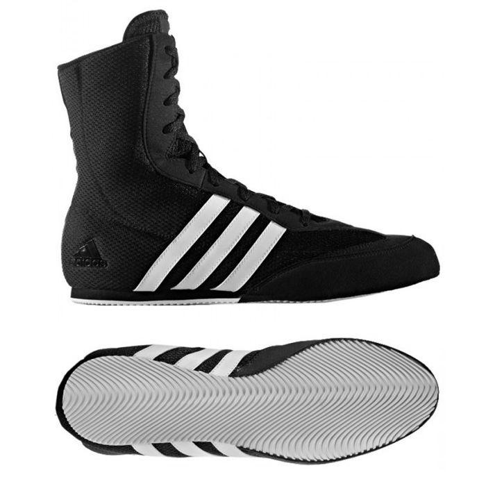 Adidas Box Hog II Boksschoenen Zwart / Wit - jokasport.nl