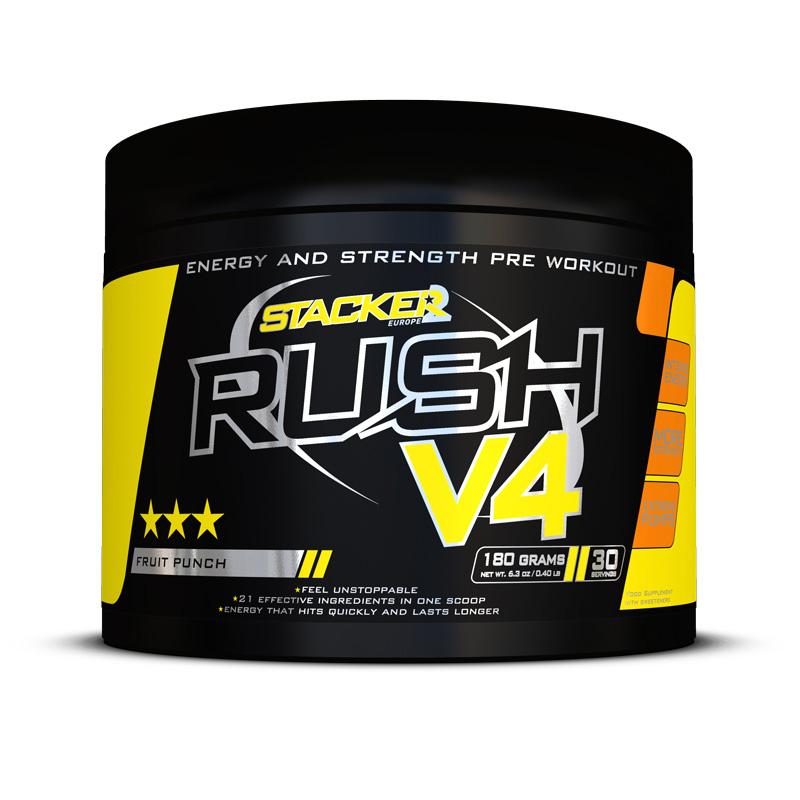 Stacker 2 Rush V4 30 servings - jokasport.nl