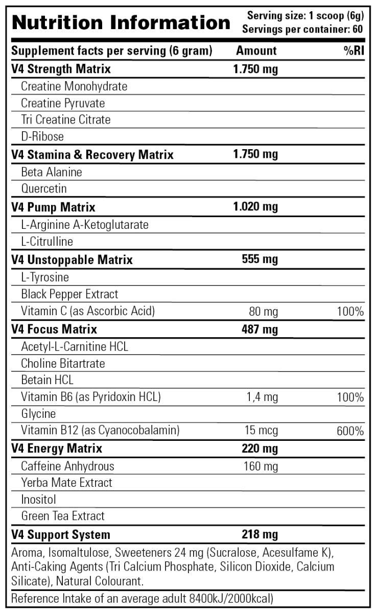 Stacker 2 Rush V4 30 servings-340615