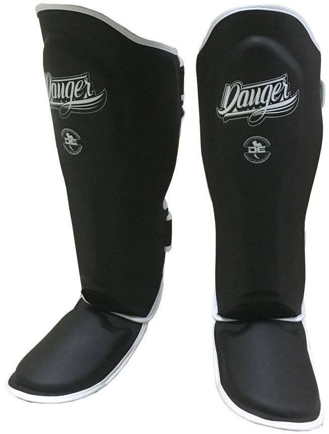 Danger Supermax Shinguards Black - jokasport.nl