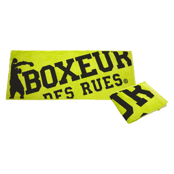 Boxeur des Rues Gym Towel Yellow