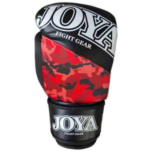 """Joya """"Top One"""" Skintex Bokshandschoenen Camo Rood - jokasport.nl"""