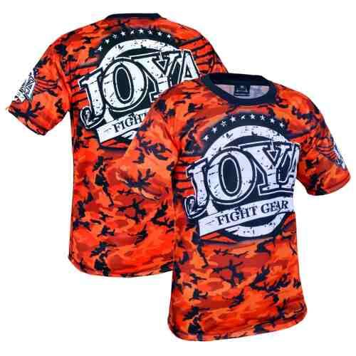 Joya T-Shirt Camo Red (3005-Red-camo) - jokasport.nl