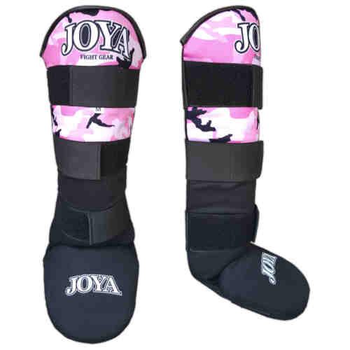 """Joya """"Velcro Camo Pink"""" Curved Scheenbeschermer - jokasport.nl"""