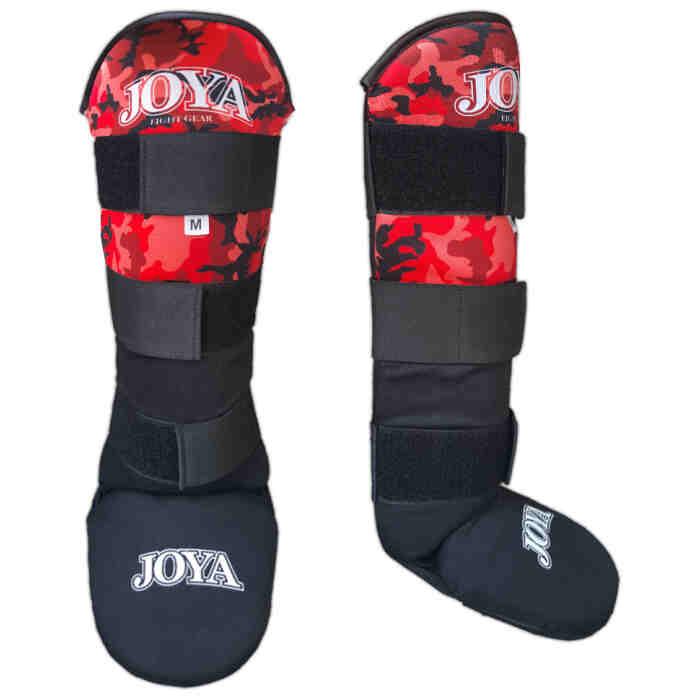 """Joya """"Velcro Camo Red"""" Curved Scheenbeschermer - jokasport.nl"""