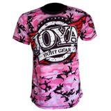 Joya T-Shirt Camo Pink-541501
