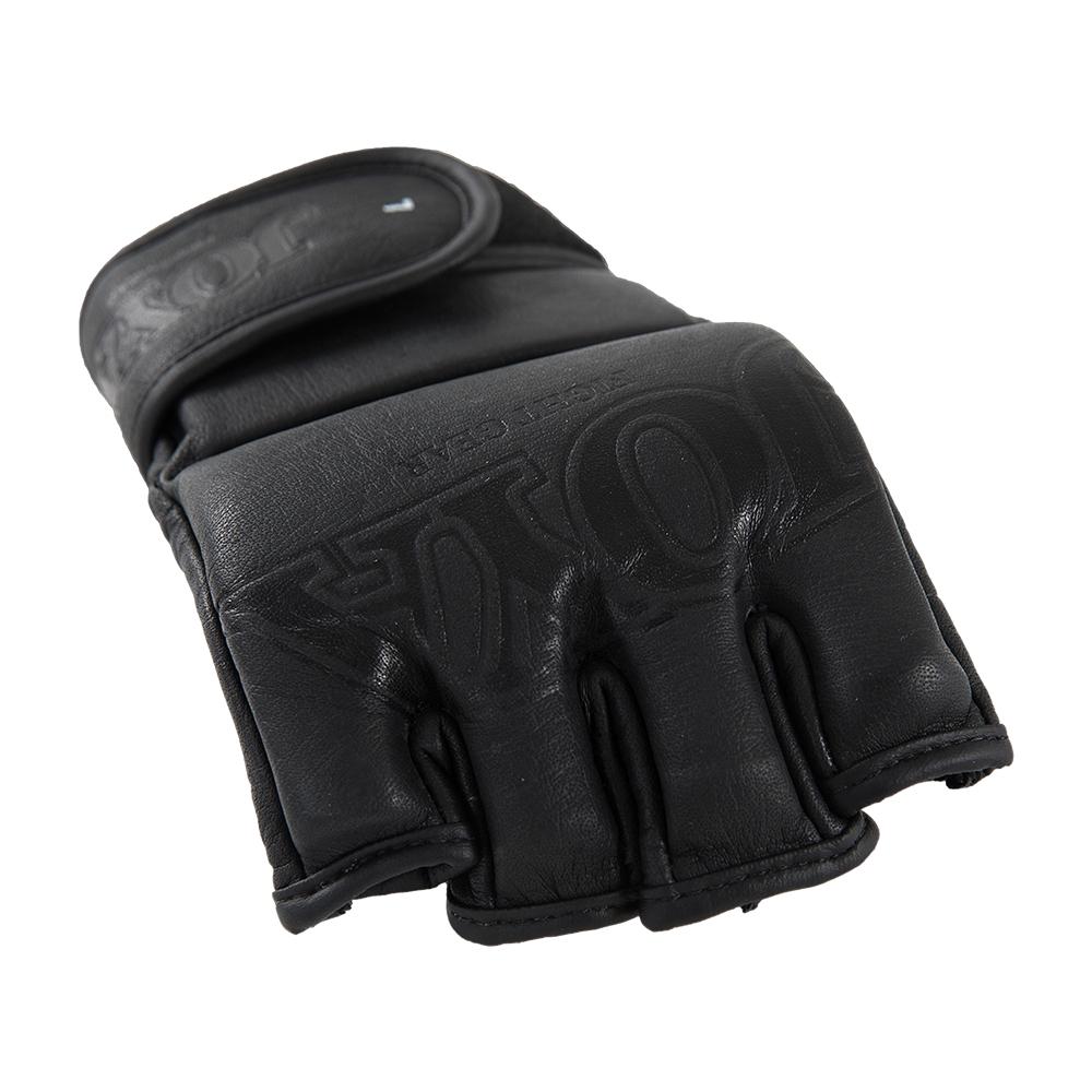 "Joya ""Fight Fast"" Leather MMA Grip Black-541528"