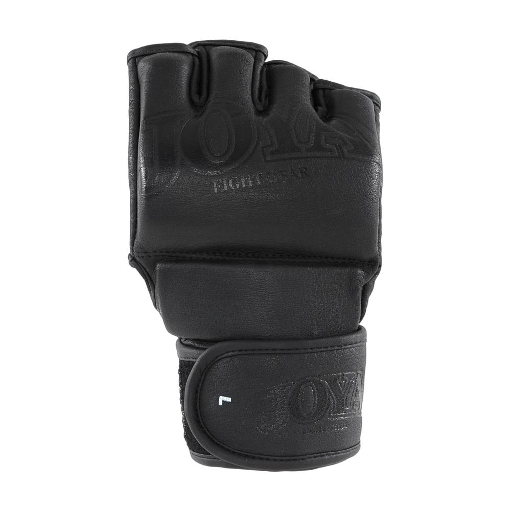 "Joya ""Fight Fast"" Leather MMA Grip Black-541529"