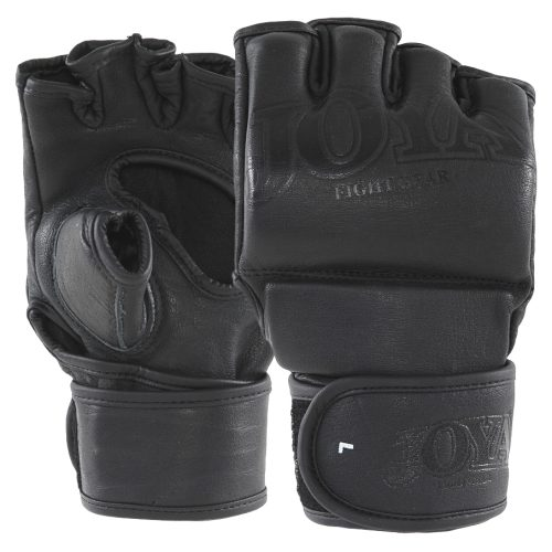 "Joya ""Fight Fast"" Leather MMA Grip Black - jokasport.nl"