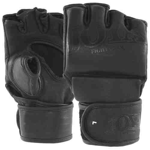 "Joya ""Fight Fast"" Leather MMA Grip Black - jokasport.nl"