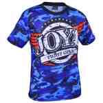 Joya T-Shirt Camo Blue-541511