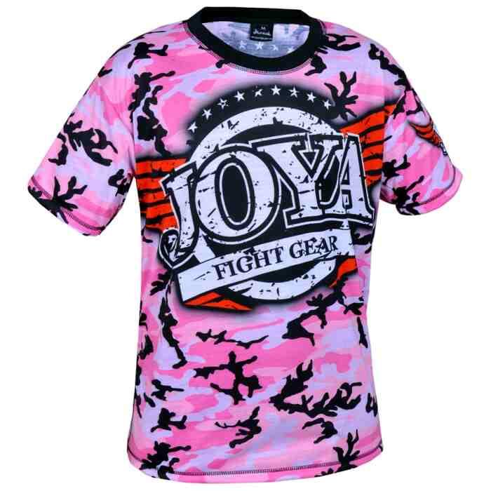 Joya T-Shirt Camo Pink-541502