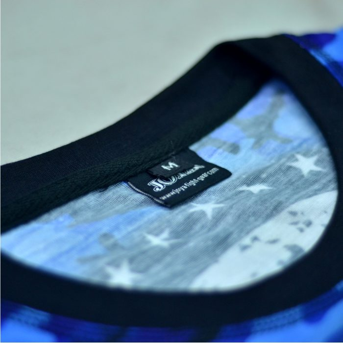 Joya T-Shirt Camo Blue-541508