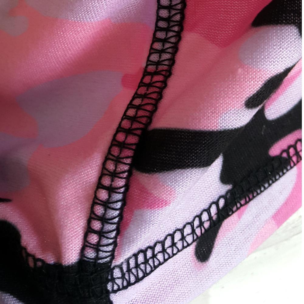 Joya T-Shirt Camo Pink-541506