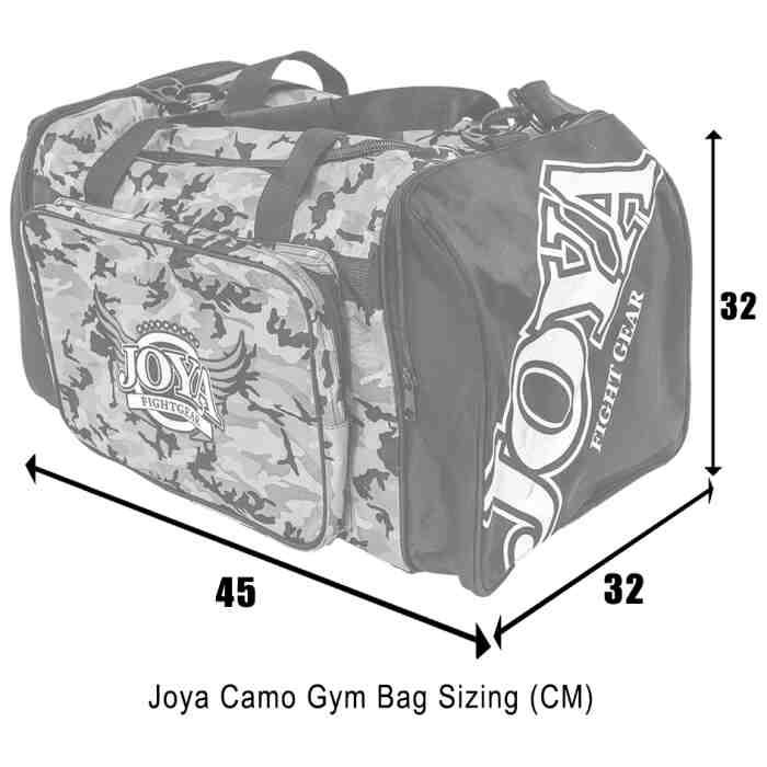 Joya Sporttas Camouflage Rood-541499