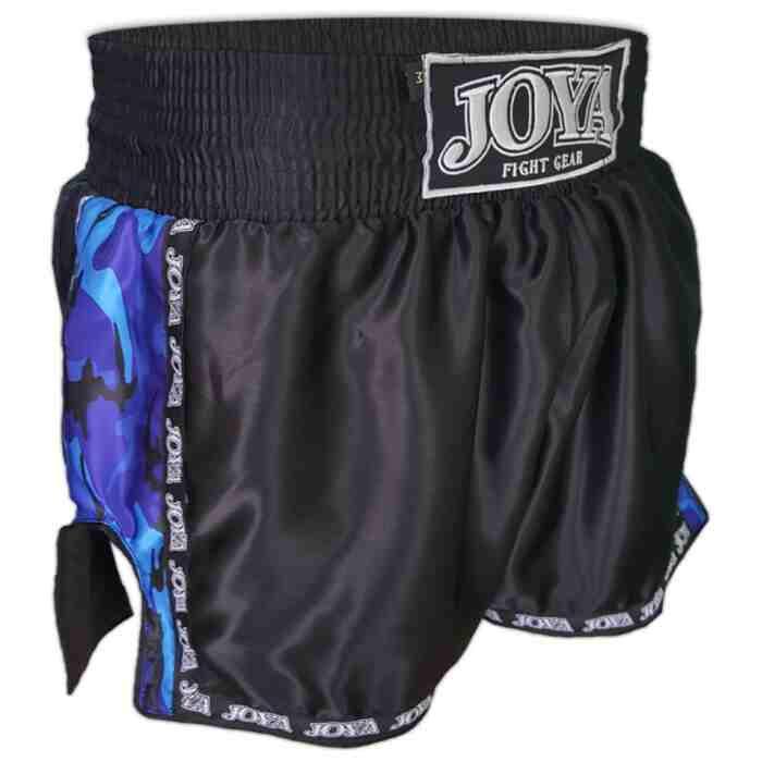"""Joya Kickboxing Short """"Camo Blue"""" - jokasport.nl"""