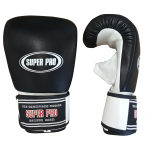 Super Pro Leather Bag Gloves Black White – jokasport.nl