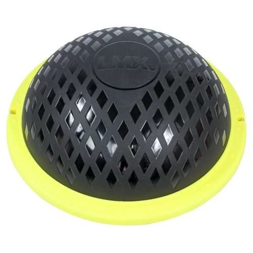 LMX Balance Dome - Zwart met geel - 60x22cm jokasport.nl