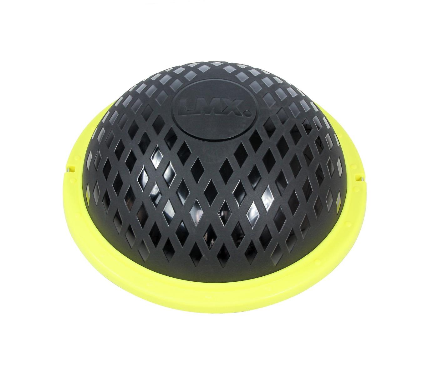 LMX Balance Dome – Zwart met geel – 60x22cm jokasport.nl