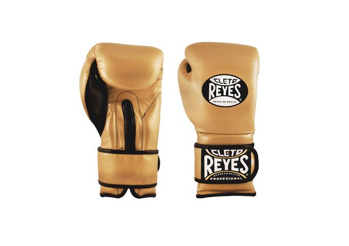 Cleto Reyes Velcro Tiger Solid Gold - jokasport.nl