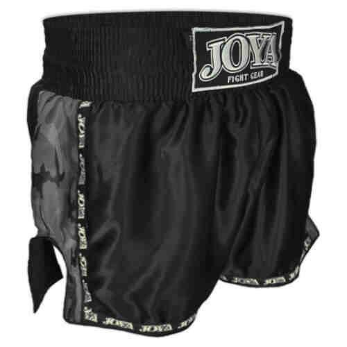 Joya Kickboxing Short Camo Black - jokasport.nl