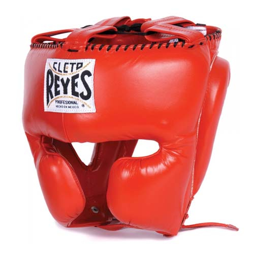 Cleto Reyes Professional Head Guard - Red