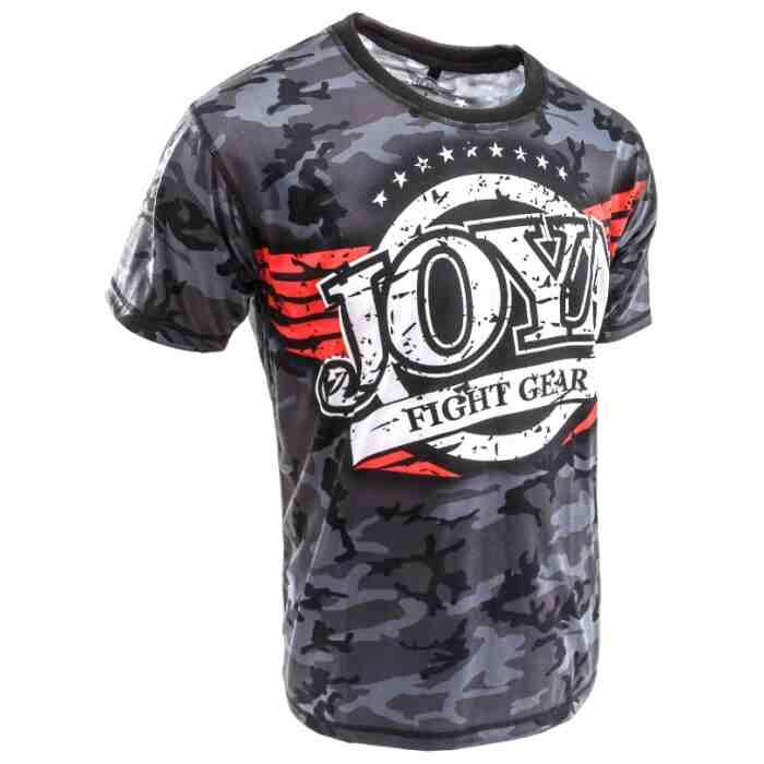 Joya T-Shirt Camo Black-541589