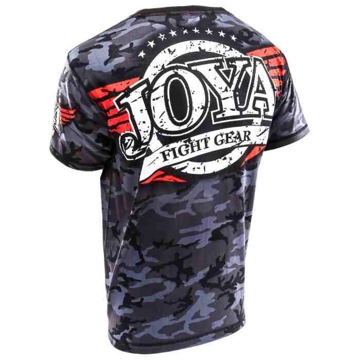 Joya T-Shirt Camo Black-541590