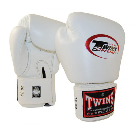 Twins BGVL-3 Boxing Gloves Full White