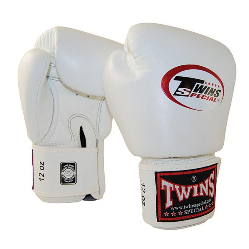Twins BGVL-3 Boxing Gloves Full White