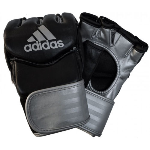Adidas Traditional Grappling Gloves - Silver - jokasport.nl