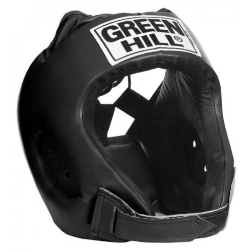 "Green Hill Head Guard ""ALFA"" Black - jokasport.nl"