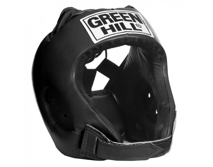 """Green Hill Head Guard """"ALFA"""" Black - jokasport.nl"""