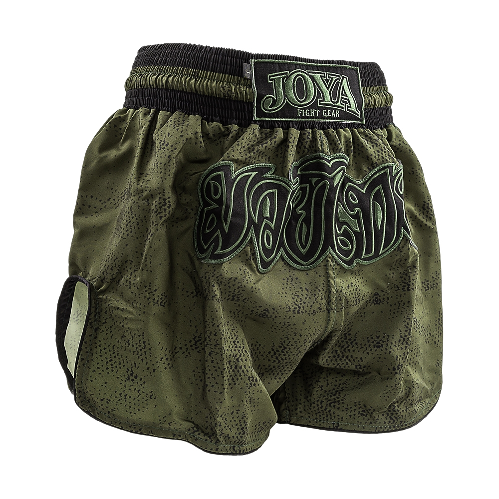 MUAY THAI SHORT FIGHT FAST ''GREEN'' - jokasport.nl