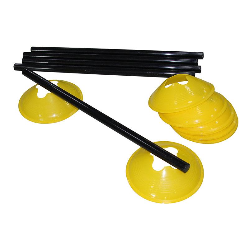 Tunturi Adjustable Agility Hurdle Set - jokasport.nl