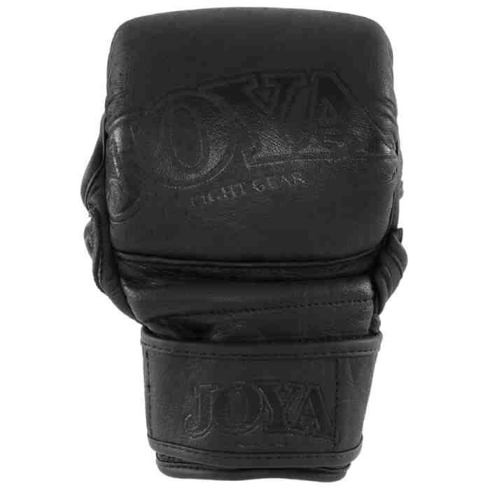 "Joya ""Fight Fast"" Leather MMA Match Grip Faded Black-541622"