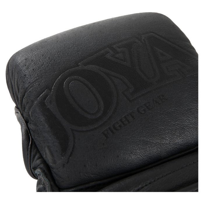 "Joya ""Fight Fast"" Leather MMA Match Grip Faded Black-541623"