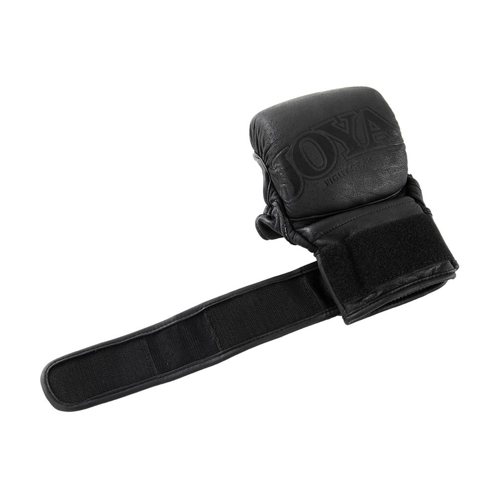 "Joya ""Fight Fast"" Leather MMA Match Grip Faded Black-541626"