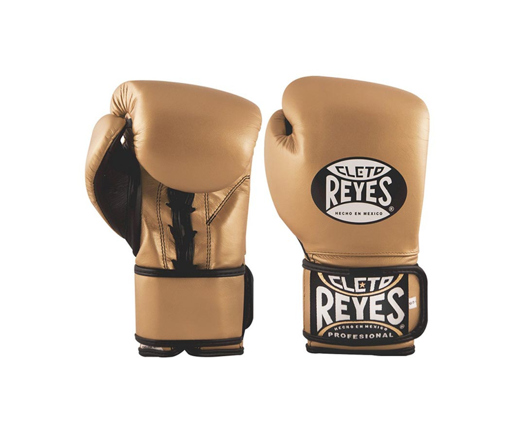 Cleto Reyes Hybrid Training Gloves - Gold-0