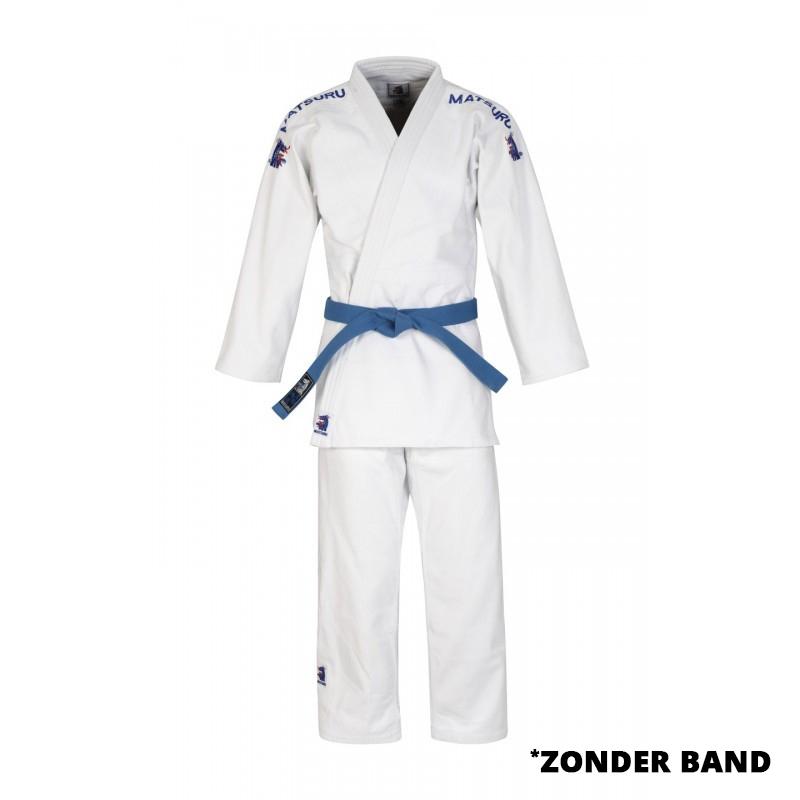 Matsuru Semi Wedstrijd Judopak Wit - jokasport.nl