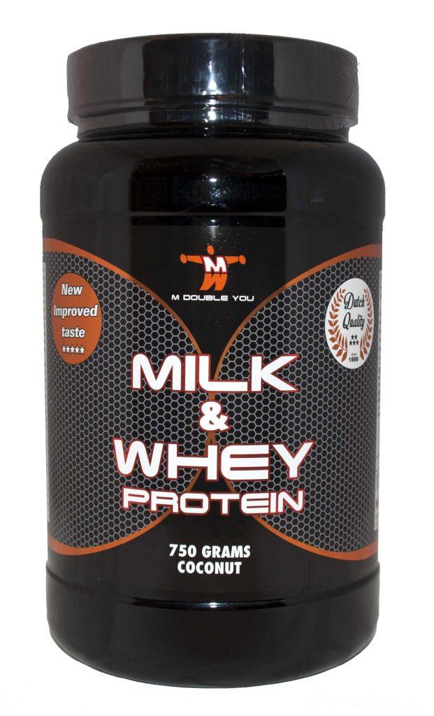 M Double You Milk En Whey Protein 750G-0