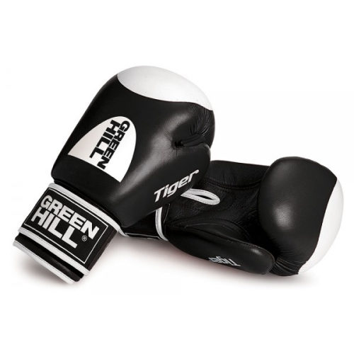 Green Hill Boxing Gloves Tiger Target 2.0 - Zwart - jokasport.nl