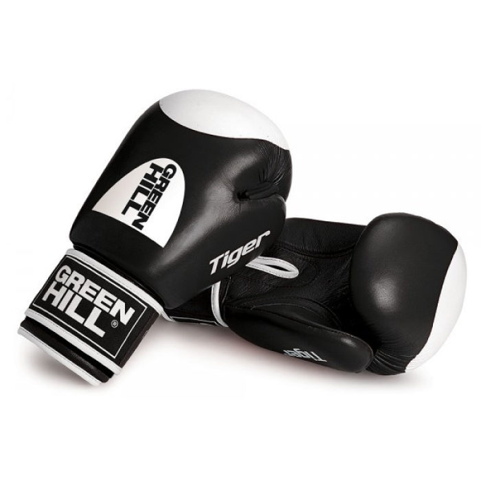 Green Hill Boxing Gloves Tiger Target 2.0 - Zwart - jokasport.nl