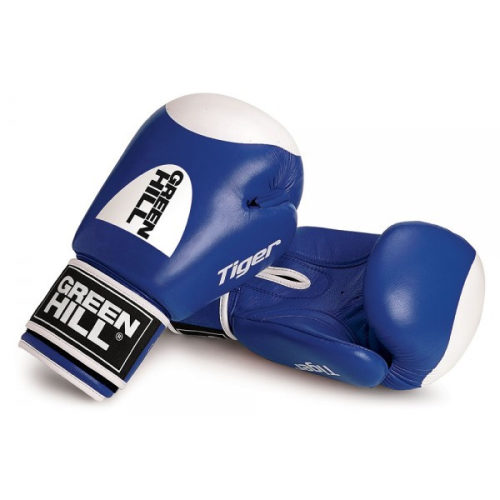 Green Hill Boxing Gloves Tiger Target 2.0 - Blue - jokasport.nl