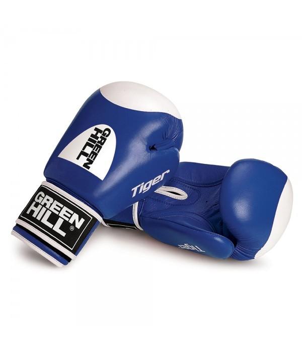 Green Hill Boxing Gloves Tiger Target 2.0 - Blue - jokasport.nl