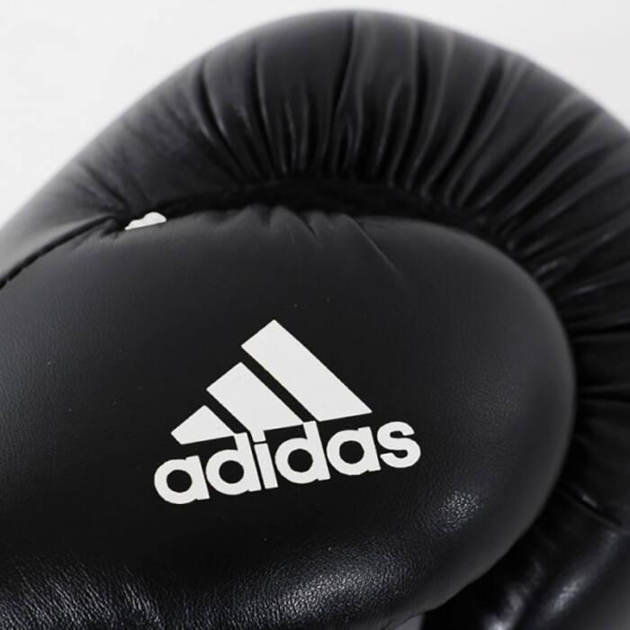 Adidas Speed 100 Bokshandschoenen Zwart met Wit - jokasport.n