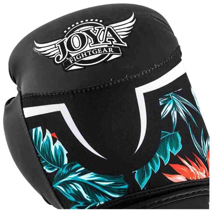 Joya Tropical Dames Bokshandschoenen Zwart - Groen-541696