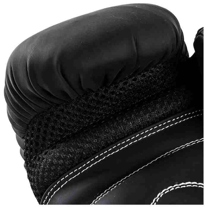 Joya Leopard Dames Bokshandschoenen Zwart - Rood-541681