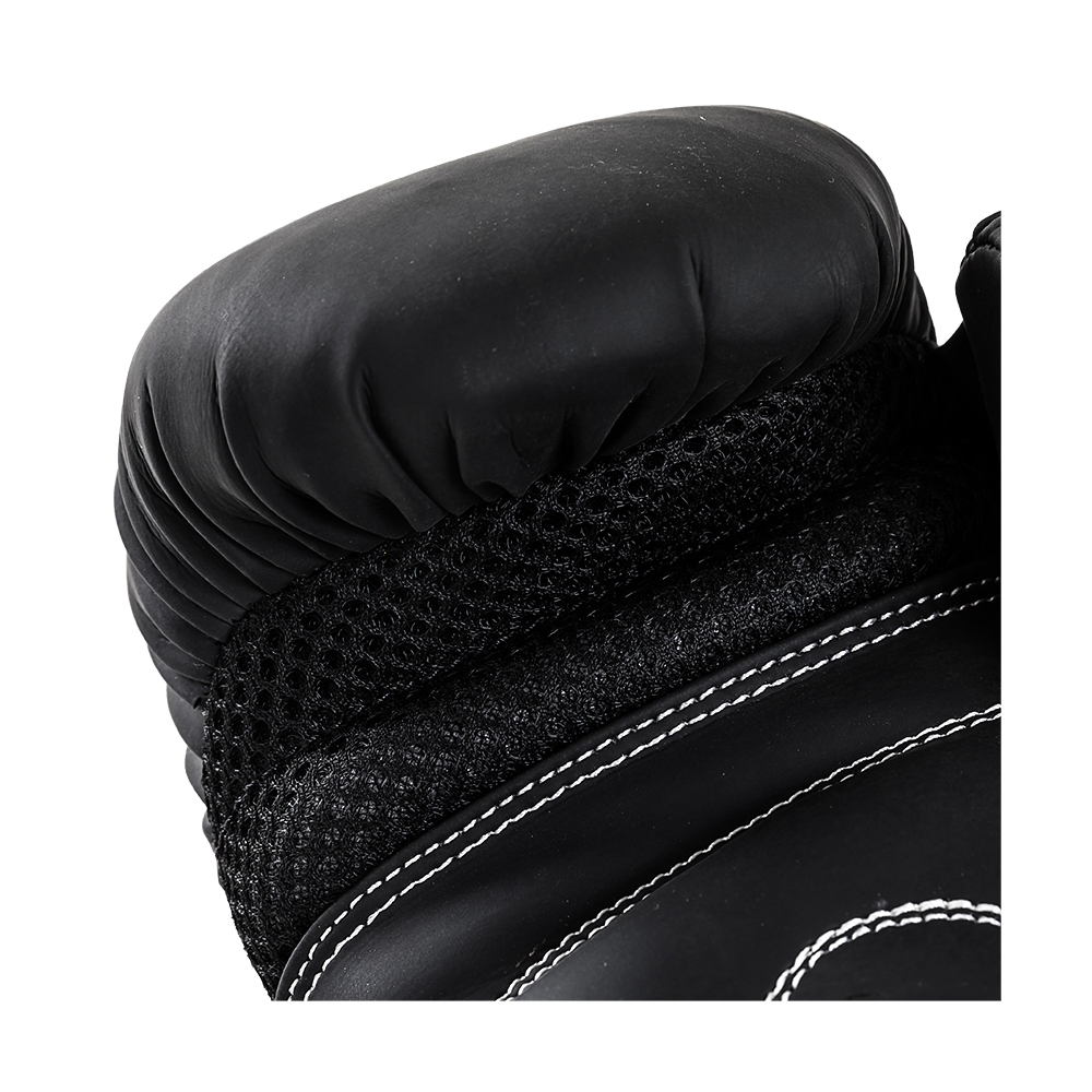 Joya Leopard Dames Bokshandschoenen Zwart – Rood-541681