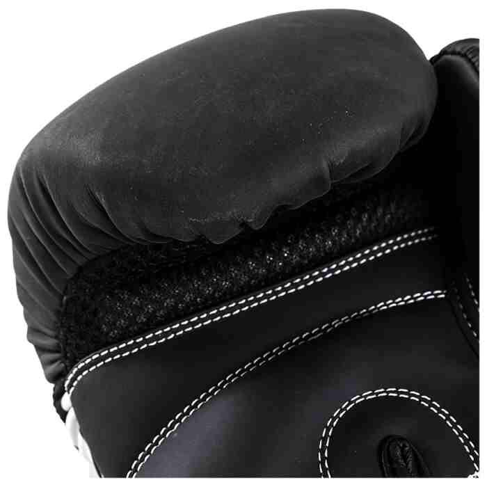 Joya Skull Dames Bokshandschoenen Zwart - Wit-541687